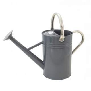 4.5L Metal Watering Can - Cool Grey