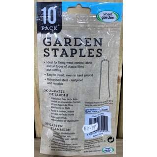 Garden Staples 10 pk
