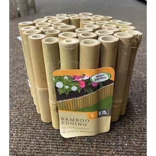 Bamboo Edging 15 cm x 1m
