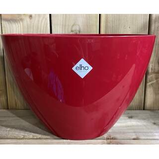 brussels diamond oval 36cm red