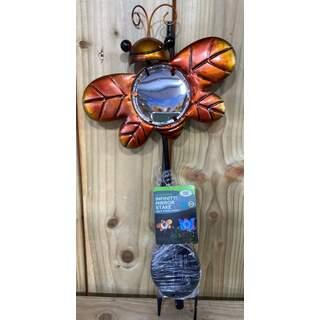 Infinity Ladybug Mirror Light - Orange