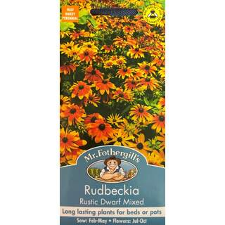 UK/FO-RUDBECKIA Rustic Dwarf Mixed
