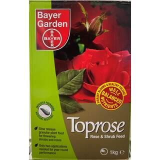 Bayer Toprose - Rose & Shrub Feed 1 Kg