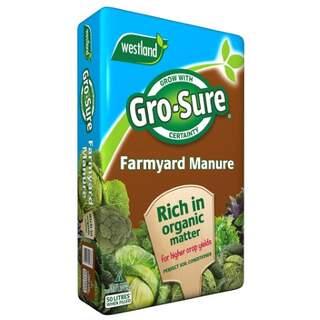 Gro-Sure Farmyard Manure 50L