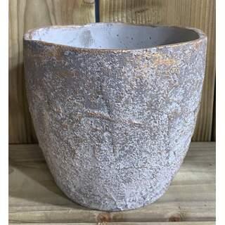 Pot Jens grey D18 H17